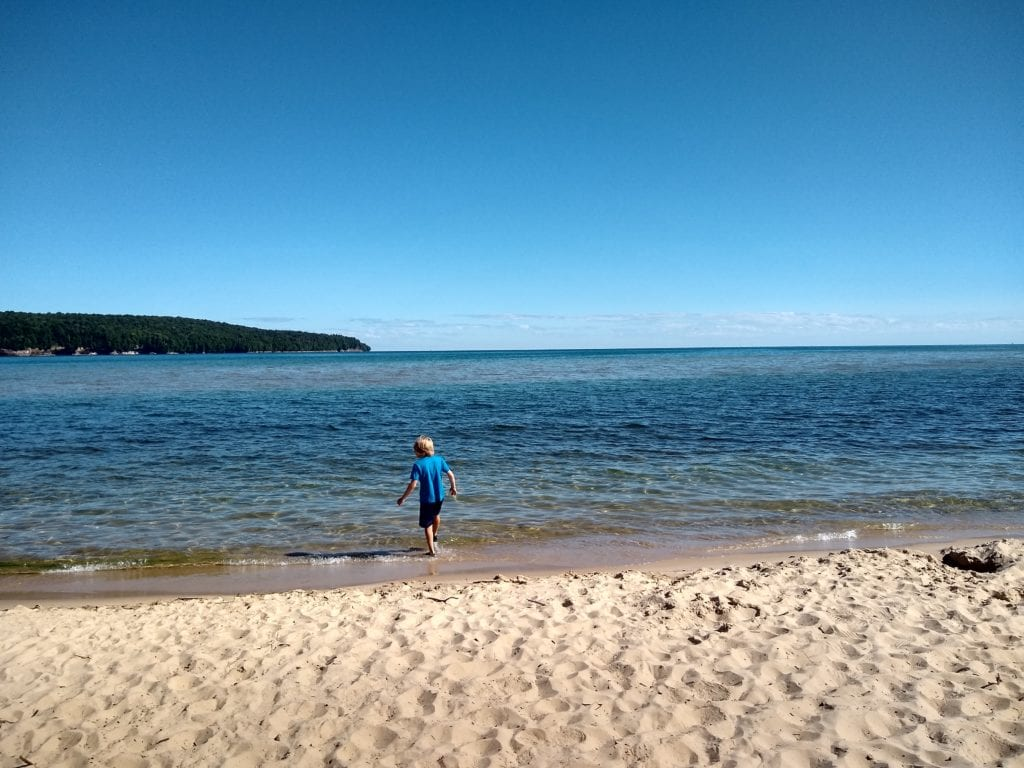 Lake Superior at Sand Point Beach